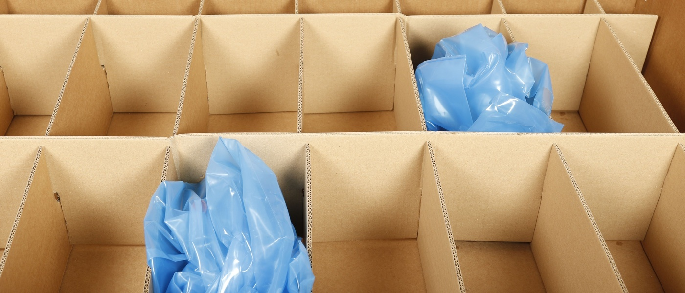 Corrugated packaging